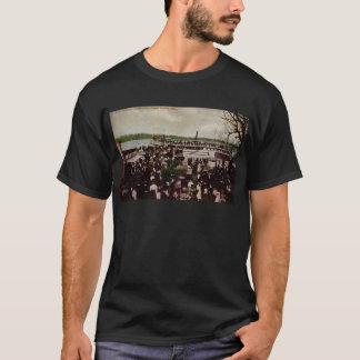 Boat Landing Reeds Lake Grand Rapids, Michigan T-Shirt