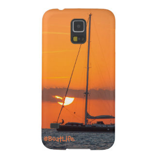 Boat Life Sunset Samsung S5 Phone Case