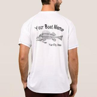 Boat Name with Fish Bones Shirt