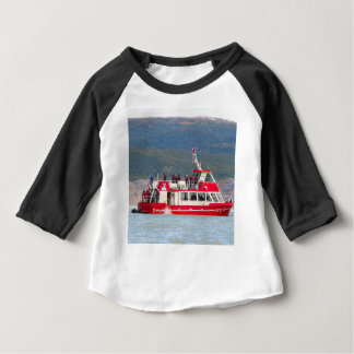 Boat on Lago Grey, Patagonia, Chile Baby T-Shirt