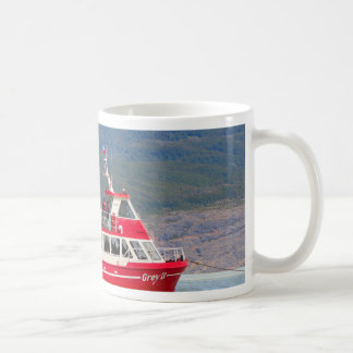 Boat on Lago Grey, Patagonia, Chile Coffee Mug