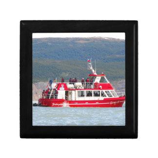 Boat on Lago Grey, Patagonia, Chile Gift Box