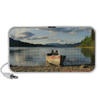 Boat on the Shore Travel Speakers