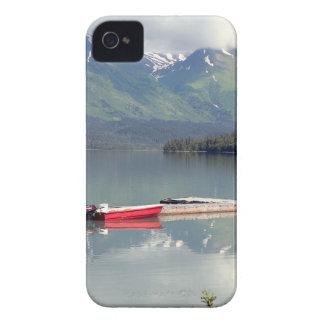 Boat on Trail Lake, Alaska iPhone 4 Case-Mate Case