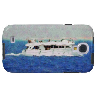 Boat painting galaxy s4 case