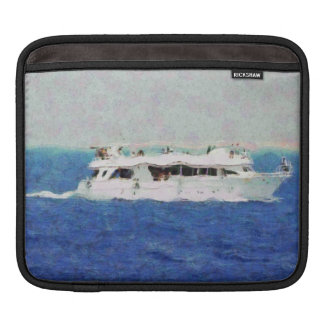 Boat painting iPad sleeve