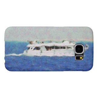 Boat painting samsung galaxy s6 cases