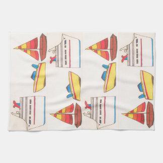 Boat Parade Towel