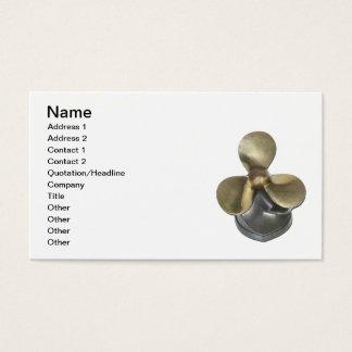 Boat Propeller Business Card