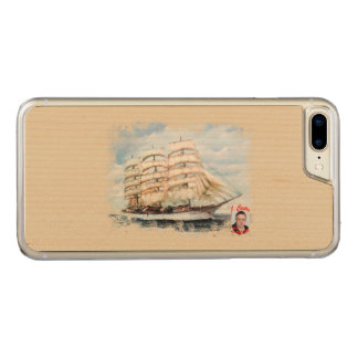 Boat race Cutty Sark/Cutty Sark Tall Ships' RACE Carved iPhone 8 Plus/7 Plus Case