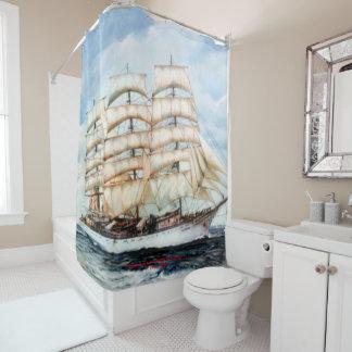 Boat race Cutty Sark/Cutty Sark Tall Ships' RACE Shower Curtain