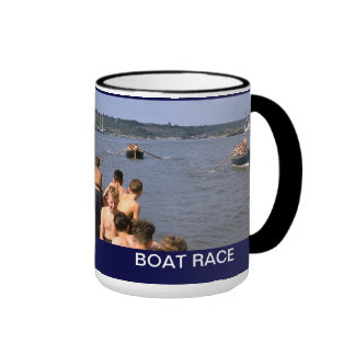 Boat Race, TS Arethusa Coffee Mug