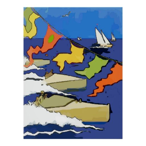 Boat Regatta, Lake Pontchartrain Print
