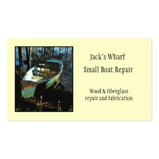 Boat Repair Business Card Template
