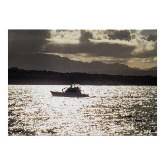 Boat Ride In The Sunlight Poster