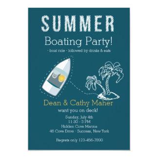 Boat Ride Invitation