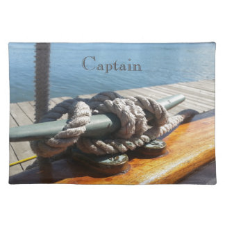 Boat rope nautical place mats