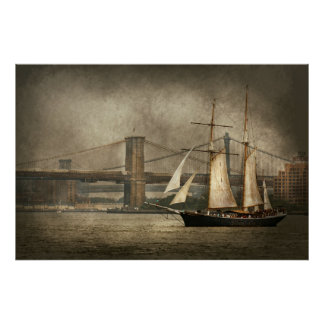 Boat - Sailing - Clipper City Posters