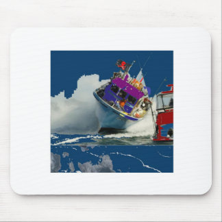 BOAT SHIP OCEAN HIGHTIDES MOUSE PAD