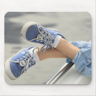 Boat shoes mouse pad