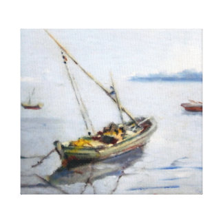 Boat/Small boat Gallery Wrap Canvas