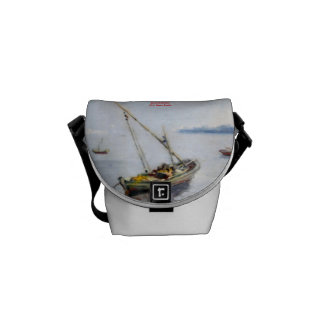 Boat Small boat Courier Bag