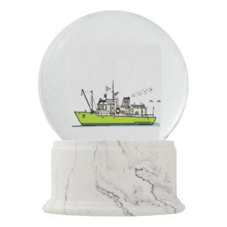 Boat Snow Globe