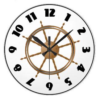 Boat Steering Wheel Clock