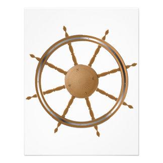 Boat Steering Wheel Invitations