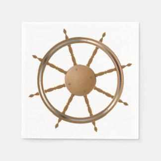 Boat Steering Wheel Paper Napkins