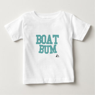 Boat-Teal Baby T-Shirt