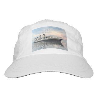 boat_titanic_close_water_waves_sunset_pink_standar hat