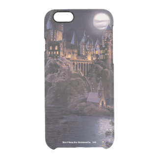 Boat to Hogwarts Castle Clear iPhone 6/6S Case