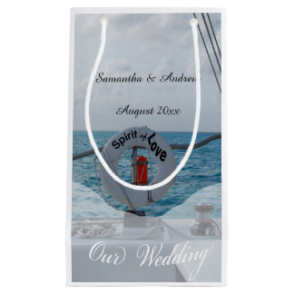 Boat Wedding Nautical Theme Small Gift Bag
