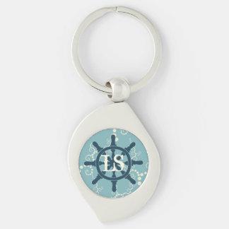 Boat Wheel Key Ring