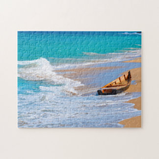 Boat Wreck Puerto Rico. Jigsaw Puzzle