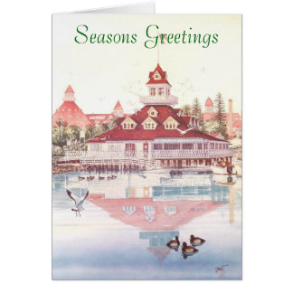 BOATHOUSE OF CORONADO CARD