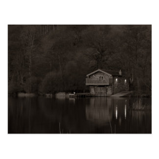 Boathouse Postcard