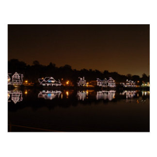 Boathouse Row Postcard