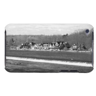 Boathouse Row winter b/w Barely There iPod Case