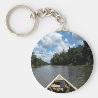 Boating down the Amazon Key Ring