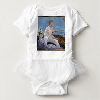 Boating - Édouard Manet Baby Bodysuit