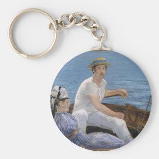 Boating - Édouard Manet Key Ring