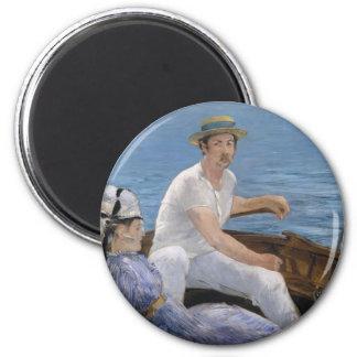 Boating - Édouard Manet Magnet