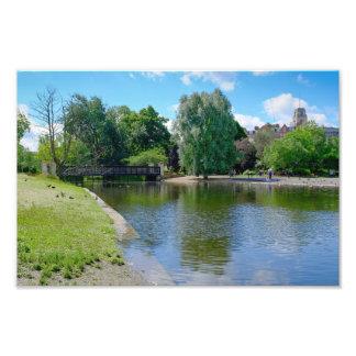 Boating Lake Regent's Park, London Print Photo Print