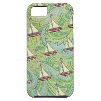 boats and paisley iPhone 5 cover
