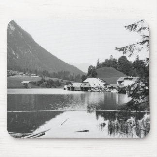 Boats at Konigssee, c.1910 Mouse Pad