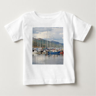Boats at Kyleakin, Isle of Skye, Scotland Baby T-Shirt