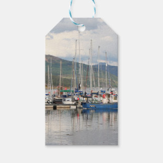 Boats at Kyleakin, Isle of Skye, Scotland Gift Tags
