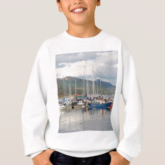 Boats at Kyleakin, Isle of Skye, Scotland Sweatshirt